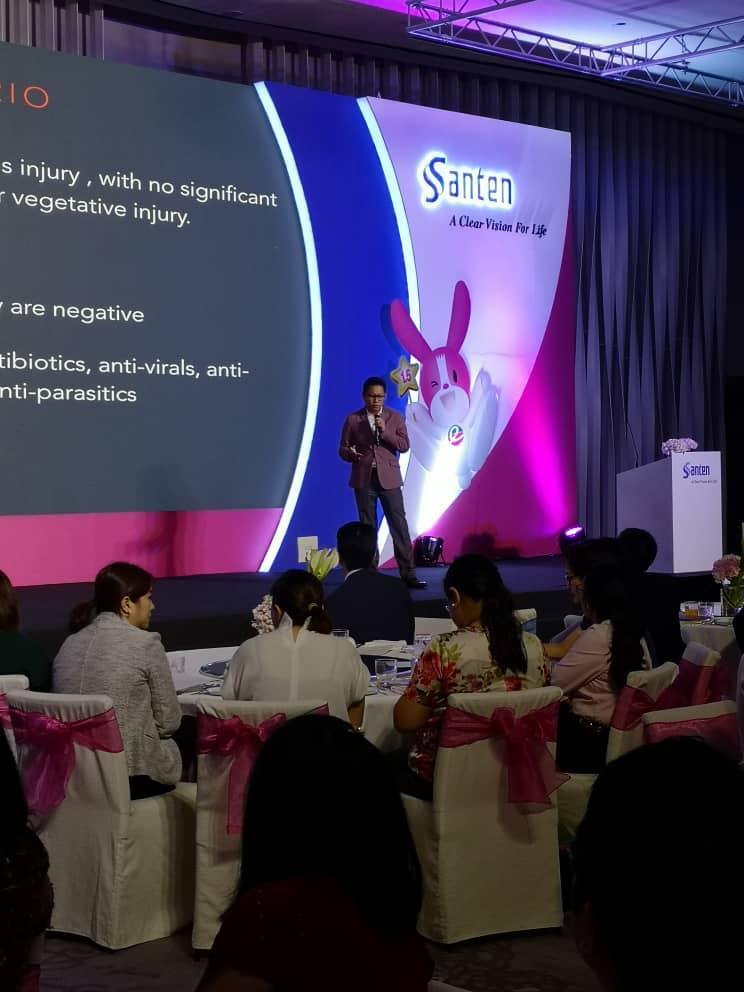 Dr Jimmy Lim Speaker at Anti-Infective Club Forum, Park Hyatt Bangkok, Thailand