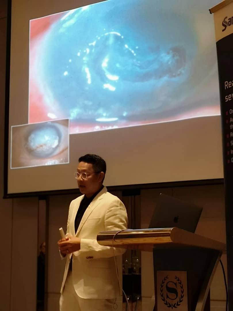 Dr Jimmy Lim Speaker at Dry Eye & Anti-Infection Symposium, Kuala Lumpur