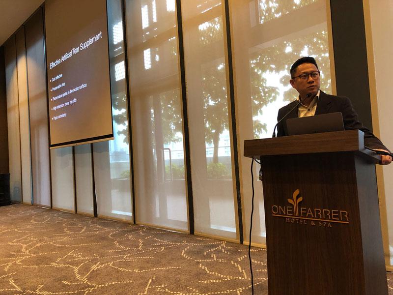 Dr Jimmy Lim Speaker at Farrer Park Hospital, Singapore