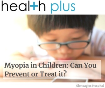 Dr Jimmy Lim Media Appearance at Health Plus Myopia in Children