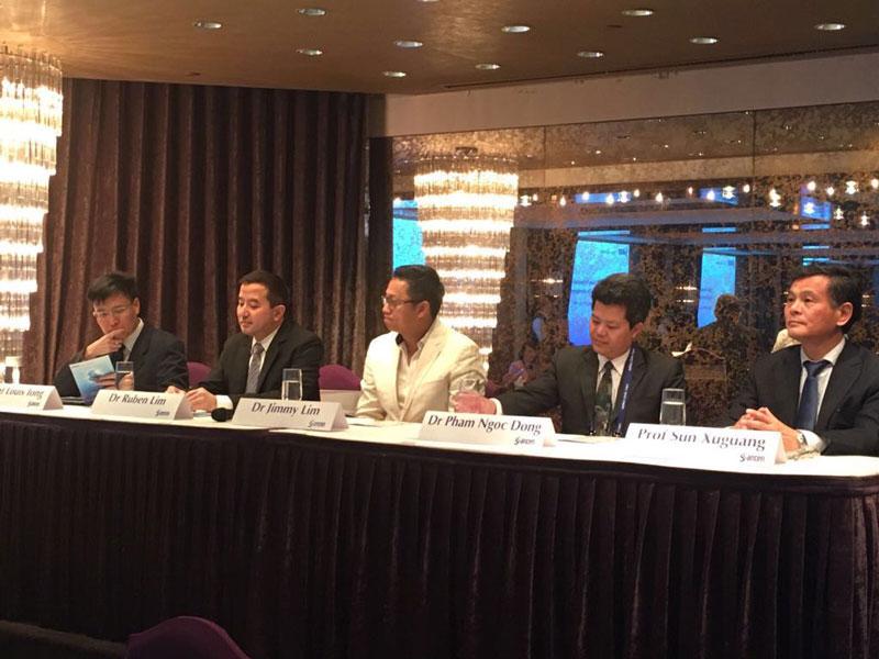 Dr Jimmy Lim Speaker at Ophthalmology Forum, Taipei, Taiwan