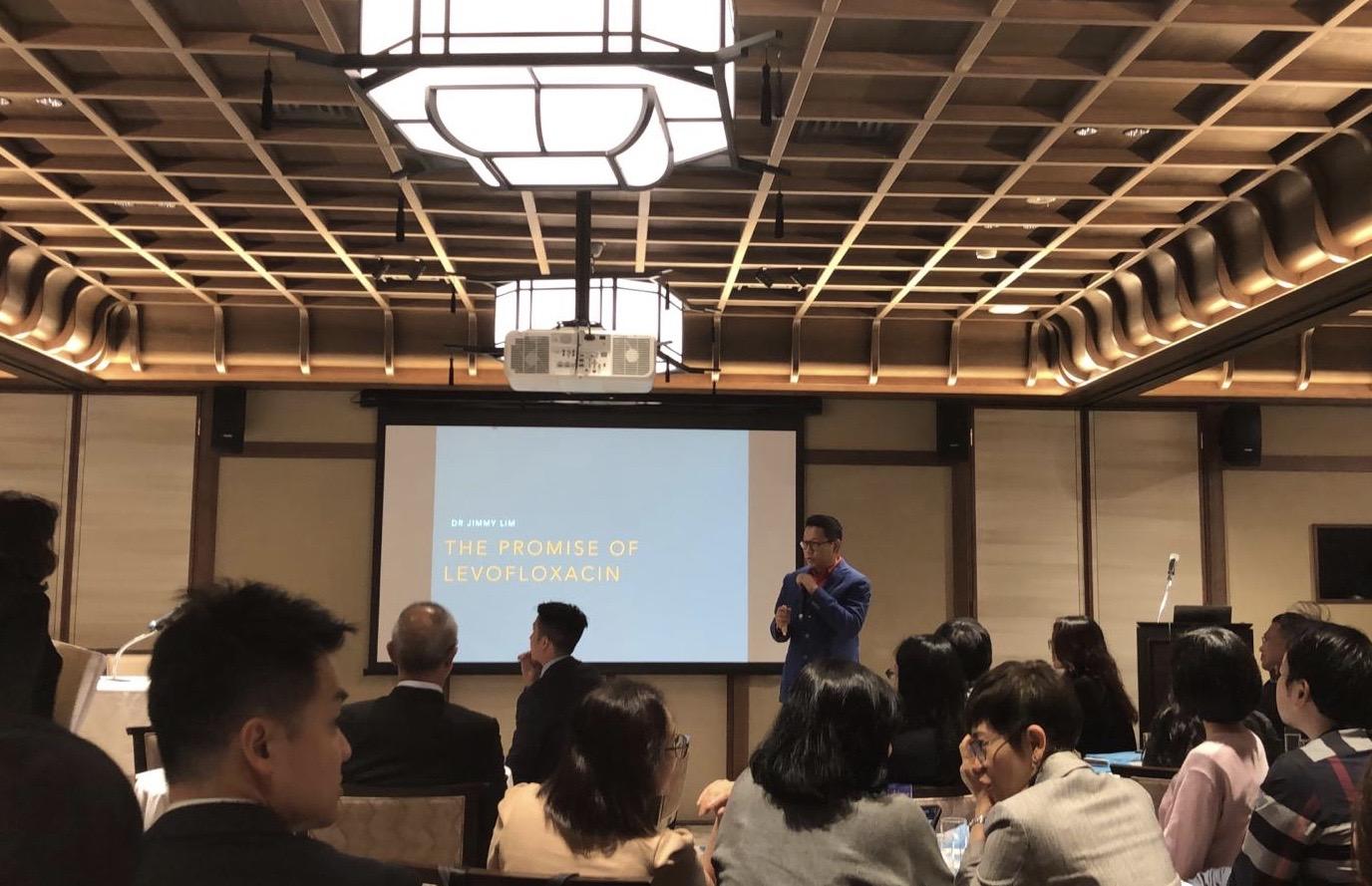 The Promise of Levofloxacin, Santen Dinner Symposium, Kyoto, Japan