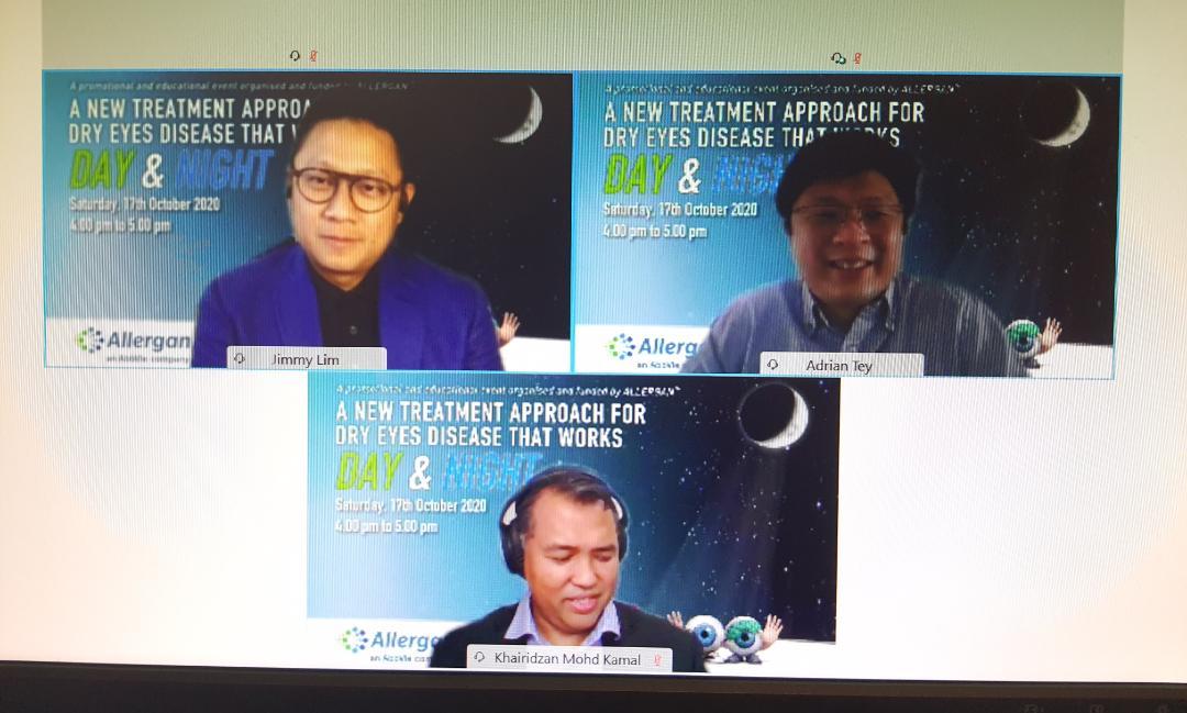 Allergan, Optive Gel: Virtual Launch Webinar, Malaysia (17 October 2020)